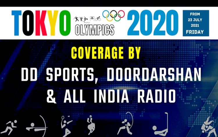 आकाशवाणी, दूरदर्शन और डी.डी. स्पोर्ट ने खेलों के प्रसारण के लिए व्यापक प्रबंध किये