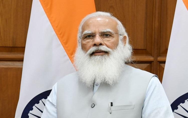 प्रधानमंत्री नरेन्द्र मोदी ने उत्तरप्रदेश में गरीब कल्याण अन्न योजना के लाभार्थियों से बातचीत की